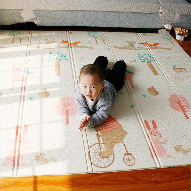 Infantil bébé chambre ramper tapis de jeu bébé tapis de jeu XPE tapis pour enfants épaissi Tapete Kid jouets pour enfants Juguetes enfants cadeau - 3