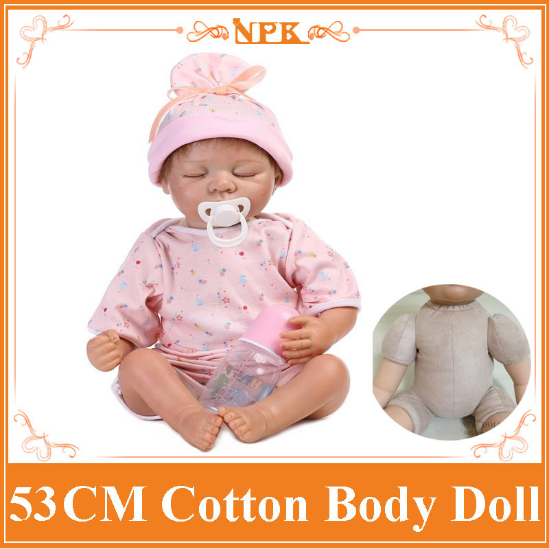 53cm Vinyl Silicone Reborn Baby Doll 22 Girl Christmas Brinquedos Lifelike Newbabies Play House Simulation Baby Reborn Doll Toy sd bjd 1 4 doll toy for girl vinyl lifelike doll american girl joint dolls play house girl brinquedos children kid birthday gift