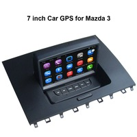 Vehicle DVR GPS Bluetooth A2dp PIP Functions For MAZDA 3 With 7 Inch Touch Screen USB