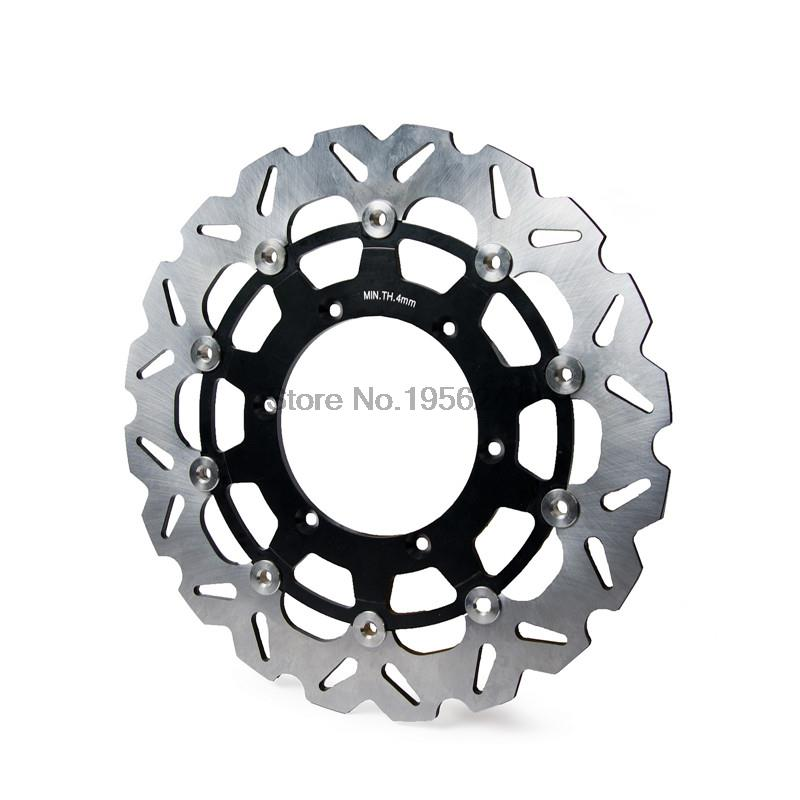 Motorcycle 320mm Floating Front Brake Disc Rotor For Yamaha YZ426F WR426F YZ450F WR450F TT600 TT600R NEW keoghs motorcycle brake disc brake rotor floating 260mm diameter for yamaha scooter bws cygnus front disc replace modify