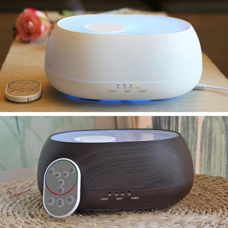 Aroma Essential Oil Diffuser Humidifier Ocean Mist with Wood Grain and Beau flannel skidproof wood grain print rug