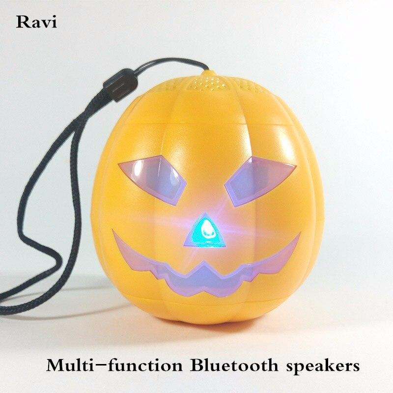Ravi Moda Abobora De Halloween Ao Ar Livre Multifuncoes Led