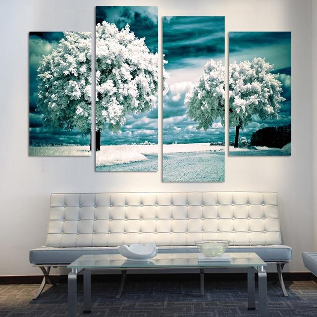Atractivo Arte Del árbol Enmarcado Galería - Ideas de Arte Enmarcado ...