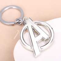 Movie The Avengers Logo Keychain (2 Colors) 5