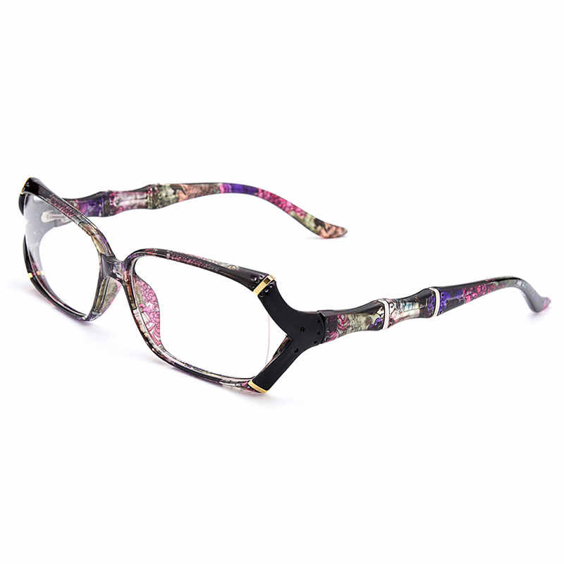 Baru Kedatangan Gmei Optik Warna-warni Urltra-Light TR90 Wanita Penuh Rim Optik Kacamata Bingkai Plastik Wanita Miopia Kacamata M1242