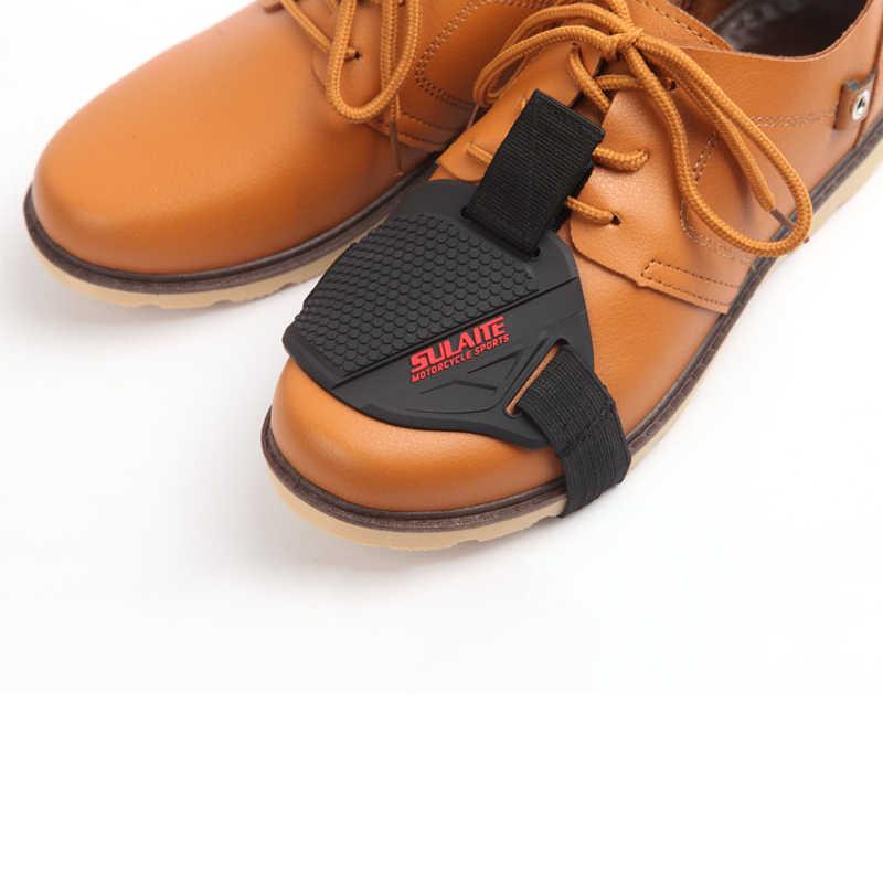 耐久性のあるノブシフターカバーシフトブーツ靴プロガードオートバイモトクロスモーター部品送料モーターボート男保護ギア