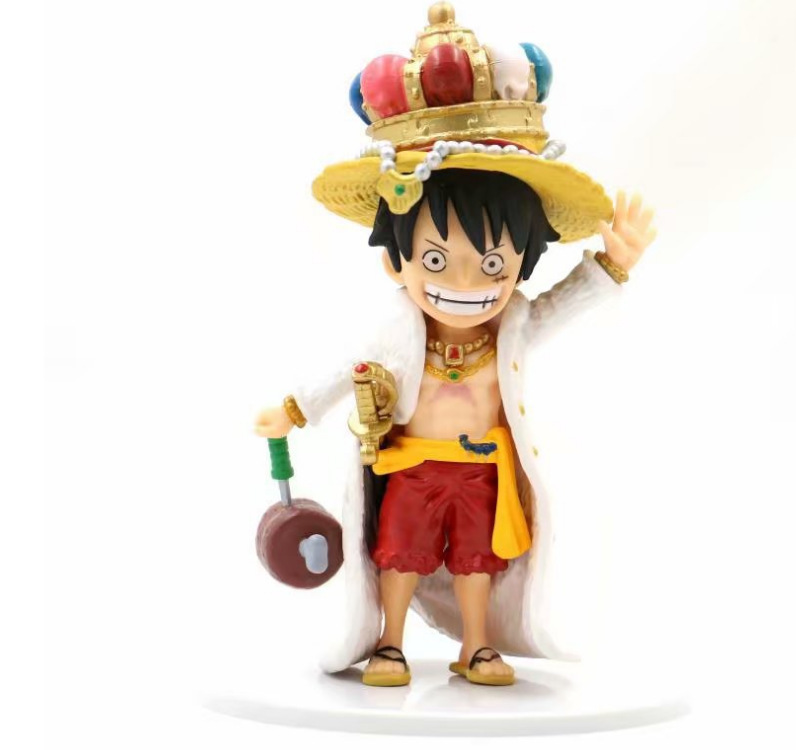 Toys & Hobbies One Piece The Straw Hat Pirates Luffy Action Figure Big Hand Ver Monkey D Luffy Pvc Figure Toy Brinquedos Anime 15cm