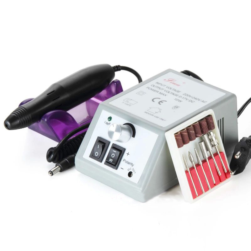 Professional Manicure Pedicure Electric Drill File Nail Art Pen Machine Set Kit tignish 30000rpm professional electric nail drill file bit machine manicure kit 110v 220v nail art buffer tools set