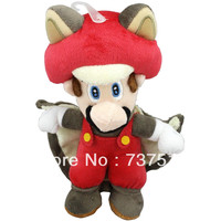 Super Mario Bros musasabi flying esquilo Stuffed plush Doll Toy Red 9