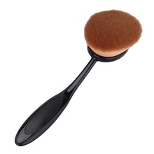 Toothbrush Makeup Brush Oval make up tool brand pinceis para maquiagem profissional brush for powder contour foundation brush