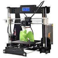 ANET A8 DIY 3D Printer LCD Display DIY Printing Machine Handcraft Off line Printing Auto Leveling High Accuracy Printer