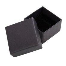 LIEBE ENGEL boîte organiseur de bijoux noir, boîte de rangement pour boucles d'oreilles, petite boîte-cadeau pour boucles d'oreilles