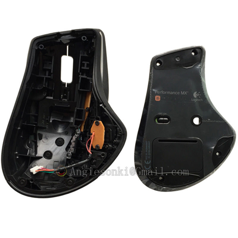ad383b19712 NEW Performance Mouse Shell/ Cover Replacement outer case/covering +1set  feet skates for Log M950 mouse +1set feet