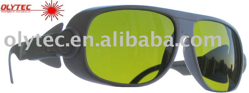 OLY-LSG-5, 190-450nm & 800-2000nm  Laser Safety Glasses ,CE, O.D 4+ Good V.L.T %