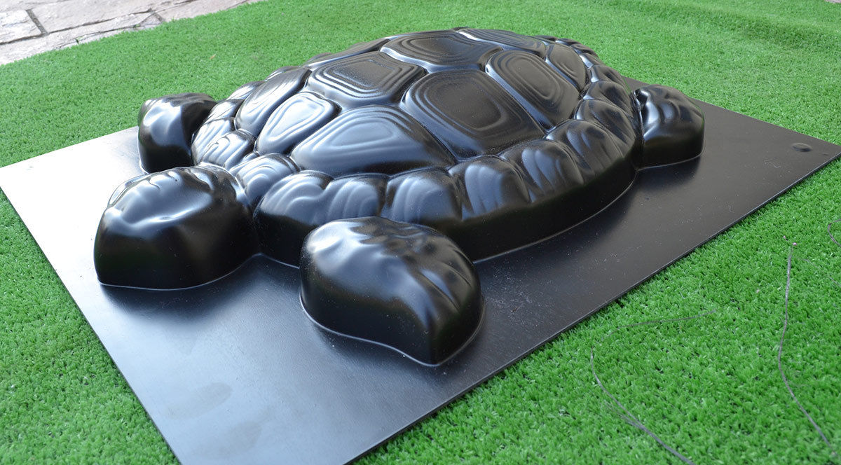 DIY Garden Path paving maker CONCRETE MOLD 3D TURTLE