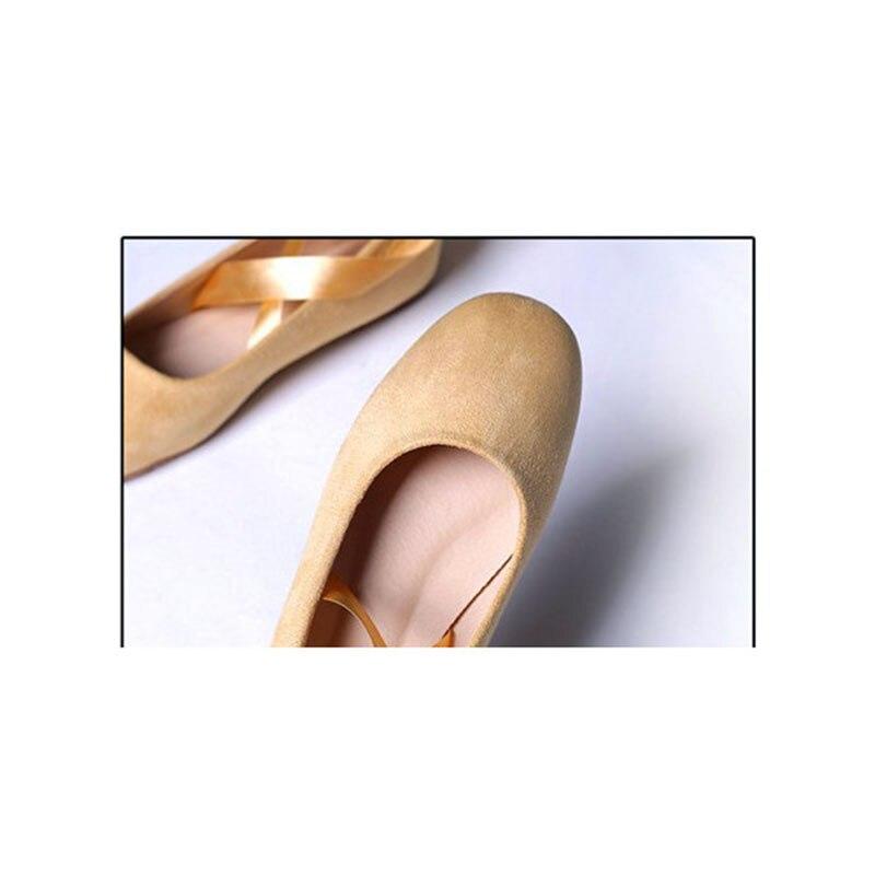 Strappy Mujer Elegante Atractivo De Sexy Ballet Fsj Generoso Zapatos Aniversario Incomparable Fsj01 Caqui Cómodo Pisos Para Noble 0PWwqSESU