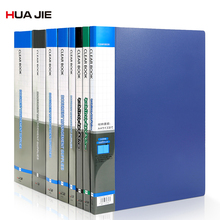 Transparent Display Book Business Paper Storage Bag Document File Folder Office Stationery Filing Products Office Folder HF10AP coloffice 2018 new impression a4 paper color dot folder four color business office folder data storage folder new filing product