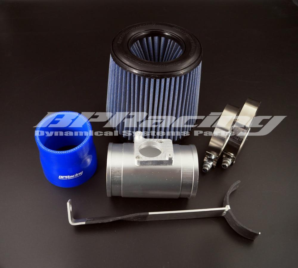 Turbo  charged  Air Intake Kit  For 04-06 Impreza WRX STi 2.5L / 2002-2005  Impreza  WRX 2.0 /  04-09  Forester 2.5XT 2.5L воздухозаборник air intake turbo