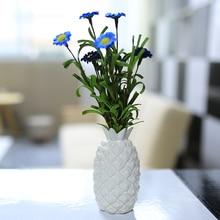 White Pineapple Porcelain Vase For home Decoration