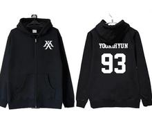 for kpop sweatshirt zipper