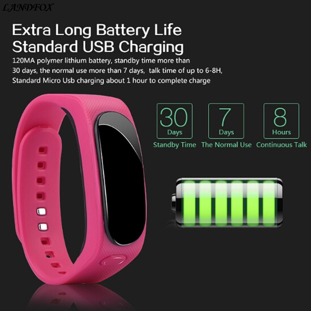 En Stock 2017 B1 TalkBand bluetooth oth4.0 casque écouteur montre intelligente Bracelet pour bande 2 Bracelet intelligent pour iPhone 6s pour