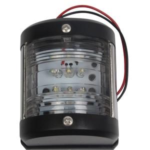 Image 1 - 12V Морская Лодка Яхта кормовой свет сигнальная лампа навигация светодиодный Белый свет порт свет