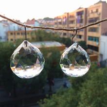 Darmowa wysyłka + 100 gwarantowana jakość AAA 30mm 47 sztuk partia K9 jasny kryształ Faceted kule kryształowy żyrandol piłka najlepiej sprzedający się tanie tanio Duszpasterska Miłość Zhejiang China (Mainland) K9 crystal clear