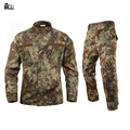 Бесплатная доставка американские военные камуфляж устанавливает Большой размер мужчины военной формы тактический костюм качество открытый джунглей camou комплект
