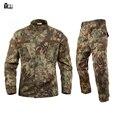 Frete grátis eua militar camuflagem conjunto Plus Size uniformes de qualidade ao ar livre tático militar caça selva camou set