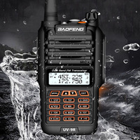 """מכשיר הקשר dual band Baofeng BF-UV9R מכשיר הקשר IP67 Waterproof 8W מתח 10 ק""""מ ארוך טווח שני הדרך רדיו Dual Band VHF / UHF FM משדר CB רדיו (3)"""