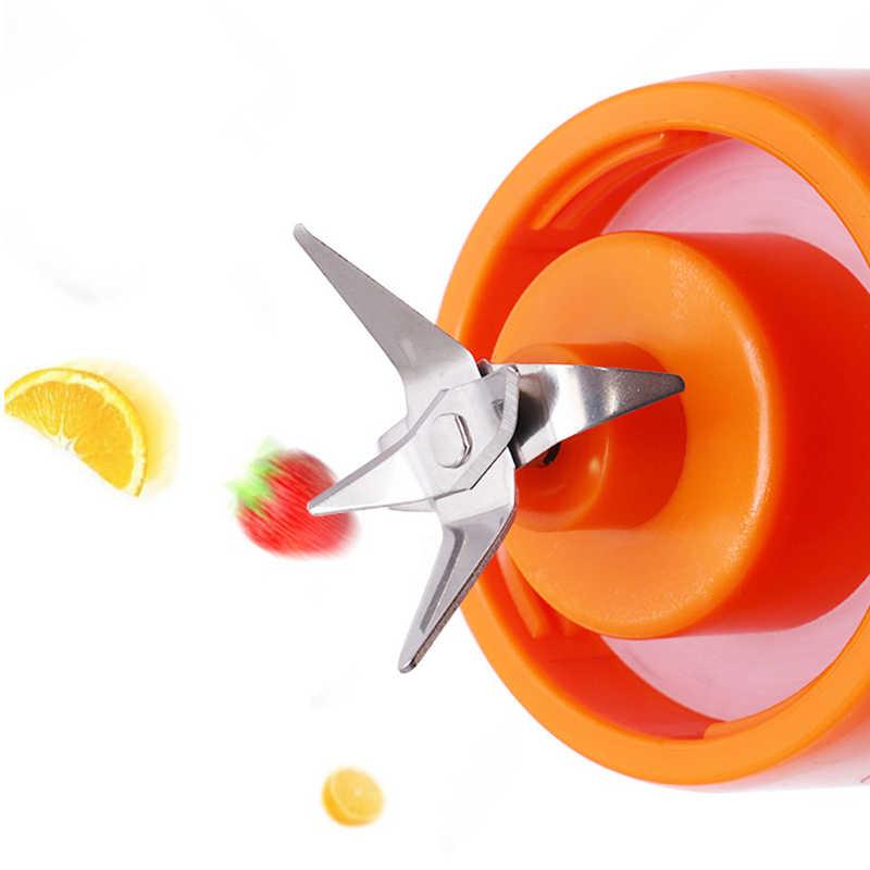 480Ml Mixer Usb em Modo de Carregamento Portátil Pequeno Espremedor Doméstico Máquina Do Smoothie Misturador Máquina de Suco de Frutas Liquidificador