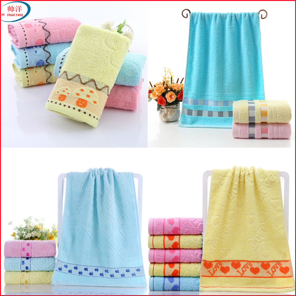 Image 5 - High quality cotton towel, thickening daily necessities, face towel, promotional gifts, gift towels, wholesale  custom made logo-in Storage Bags from Home & Garden