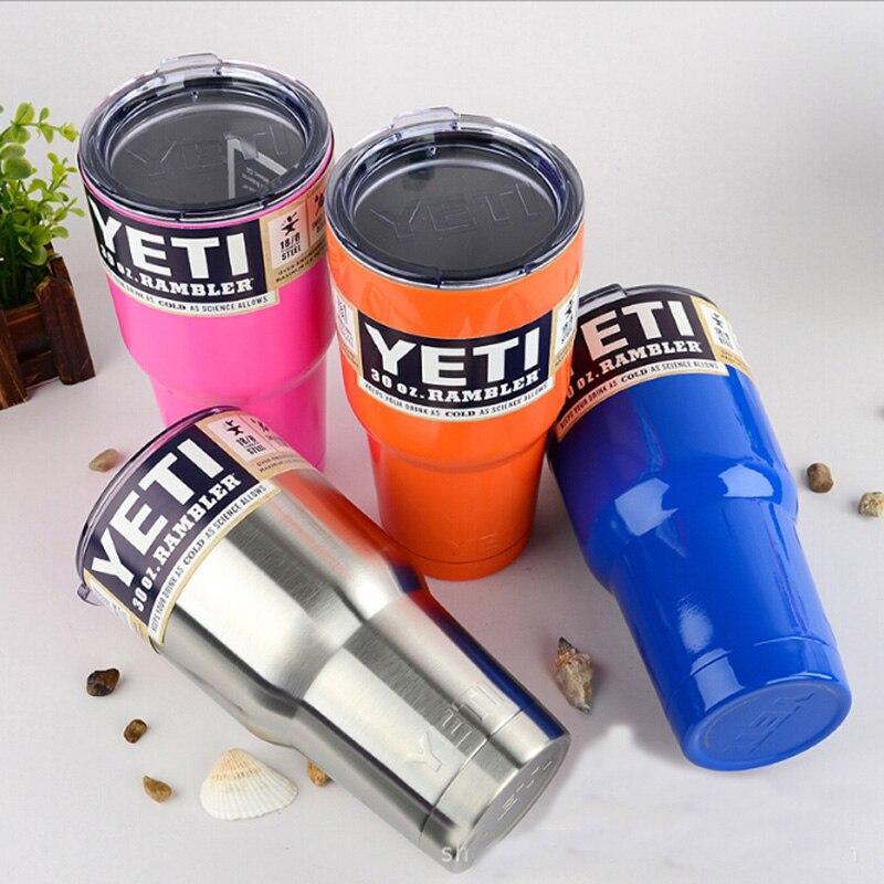 <font><b>YETI</b></font> Tumbler <font><b>Cups</b></font> <font><b>30</b></font> <font><b>oz</b></font>/20 <font><b>oz</b></font> <font><b>YETI</b></font> <font><b>Rambler</b></font> Cooler Vacuum Insulated Vehicle Coffee Beer Mug <font><b>Cups</b></font>
