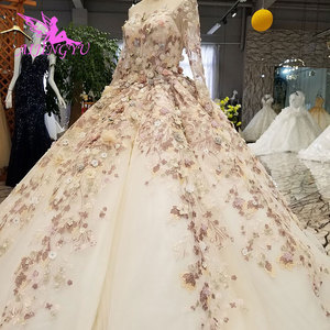 Image 1 - AIJINGYU Korean Wedding Dress Summer Gowns Discounts 2021 Princess Informal White Bridal Gown Wedding Bolero Lace Ivory Long