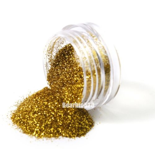 Nail Art Glitter Powder Dust For Uv Gel Acrylic Decoration Tips Color