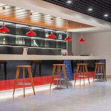 Минималистический современный дизайн твердый деревянный барный стул счетчик высокий табурет, мебель набор гостиной высокий 75 см бар набор стул обеденный стул