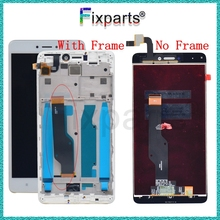For Xiaomi Redmi Note 4X LCD Display Touch Screen With Frame Assembly For Redmi Note 4X LCD Display Redmi 4X LCD Replacement все цены