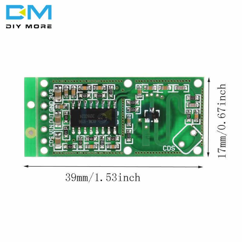 RCWL-0516 RCWL 0516 microonda Sensor de Radar Placa de Sensor de cuerpo humano Módulo de interruptor electrónico de inducción