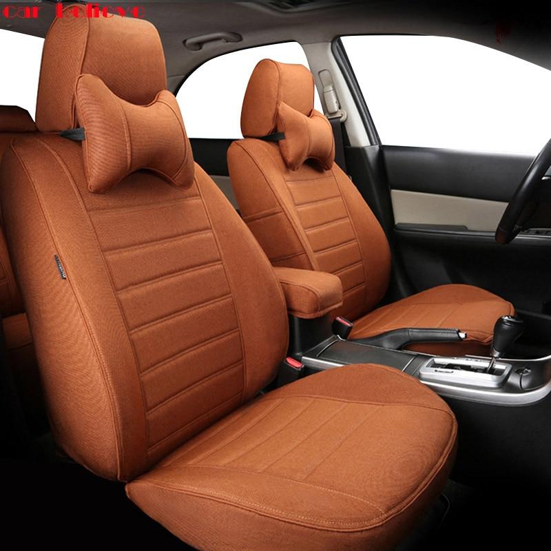 Car Believe Auto automobiles leather car seat cover For Mitsubishi Lancer 10 Outlander 2017 Pajero Eclipse asx car accessories
