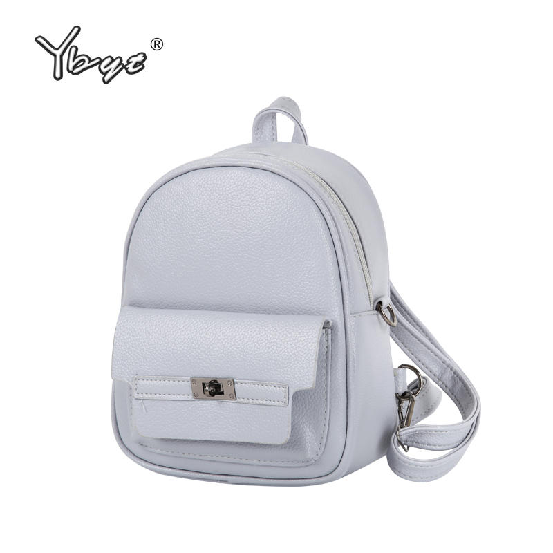 YBYT brand 2018 new women PU leather student school bookbags shopping packages fashion casual travel bags preppy style backpacks polo authentic golf standard packages bag pulley drawbars travel professional lady rod bag standard cue packages nylon with pu