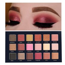 18 Colors Sexy Nude Eyeshadow Palette Eye shadow Waterproof Professional Shimmer Glitter Make up Palette Pigment Cosmetics