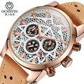Reloj hombre 2017 ochstin nuevo cronógrafo reloj de los hombres de la marca de lujo famoso reloj de pulsera para hombre de acero reloj de cuarzo masculino-ver reloje