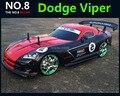 Grande 1:10 RC carro de alta velocidade Car Racing 2.4 G Dodge Viper 4 roda controle de rádio de carro esporte deriva modelo de carro de corrida brinquedo eletrônico