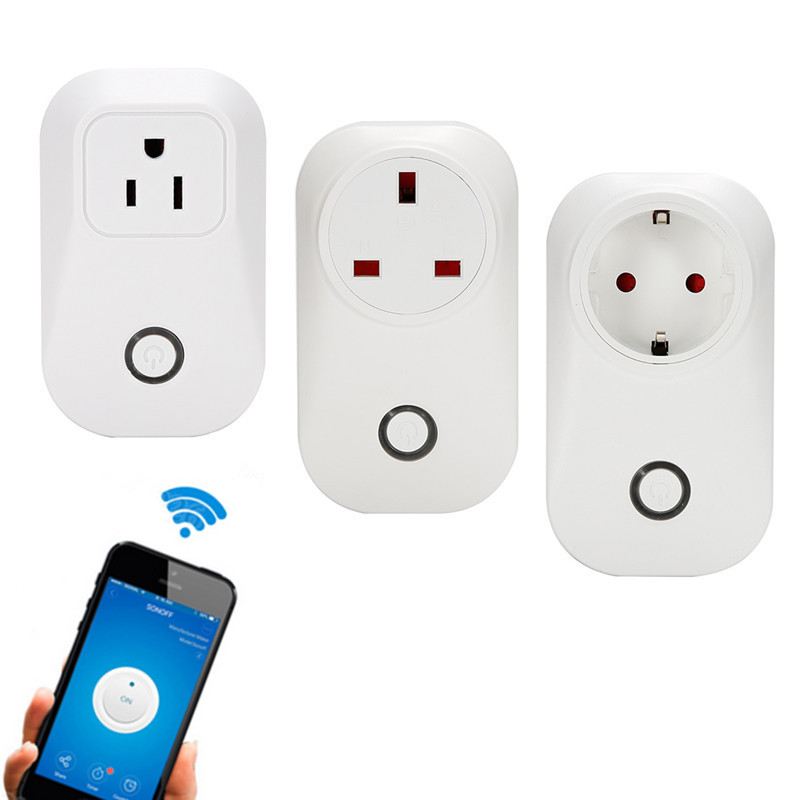 Sonoff S20 Wifi Wireless Remote Control Socket Smart Home Power ...