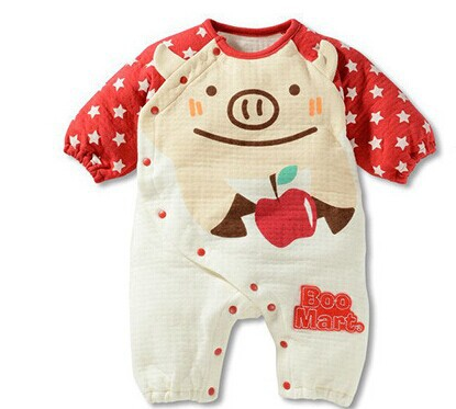 Free shipping 2016 new baby clothing baby romper newborn kids suit romper soft cotton Baby girls boys Kids Rompers A127 newborn baby rompers baby clothing 100% cotton infant jumpsuit ropa bebe long sleeve girl boys rompers costumes baby romper