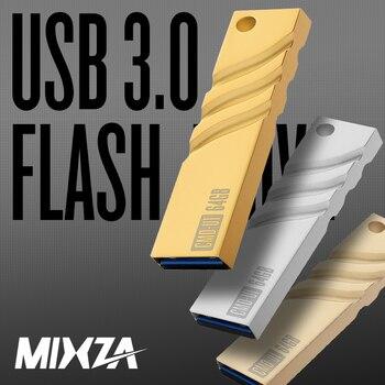 Disco de memoria USB MIXZA CMD-U1 16 GB 32 GB 64 GB USB3.0 Pendrive pequeño almacenamiento de memoria dispositivo Flashdrive