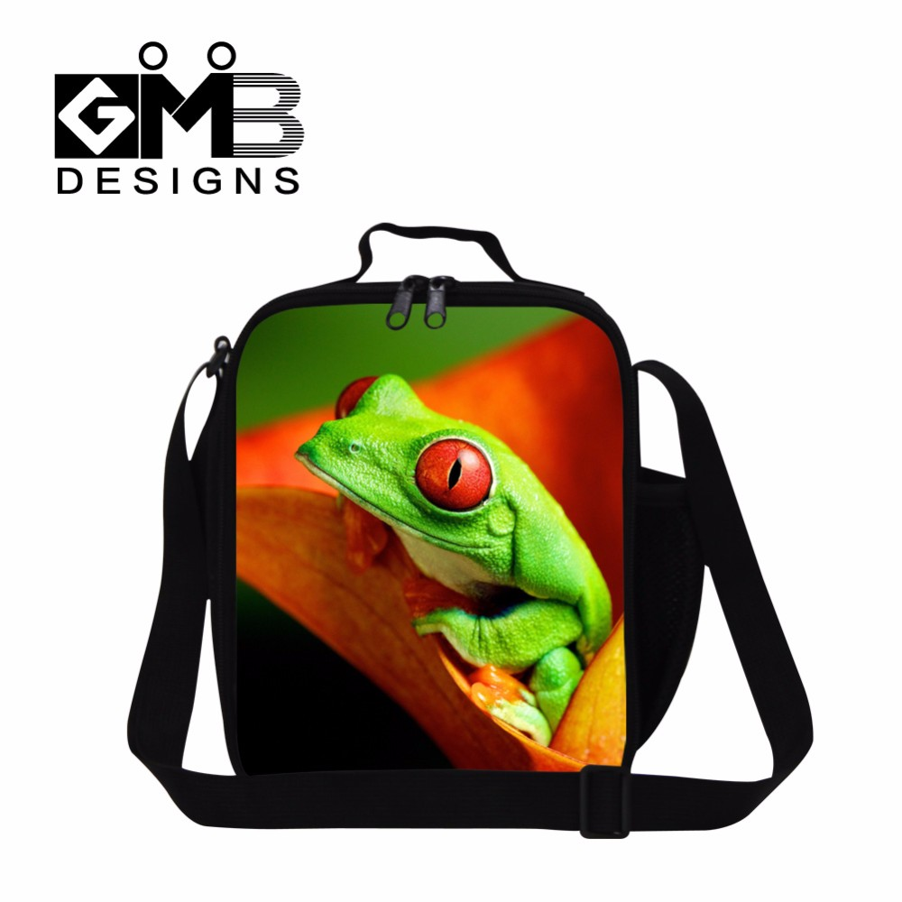 Tree frog lunch bag