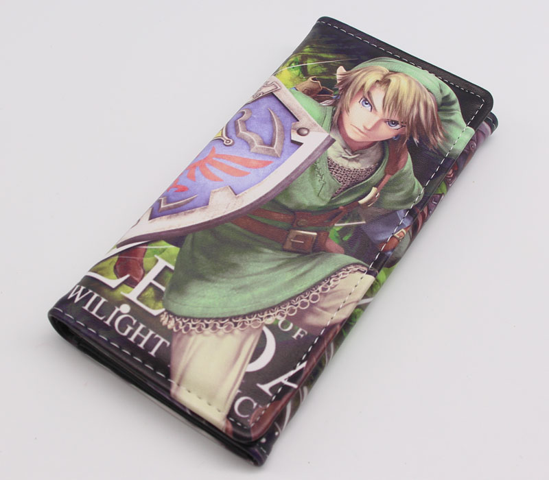 The Legend of Zelda: Twilight Princess Long Wallet Coin Purse Cosplay Link Cartoon Zipper Photo Holder Anime Billfold 2016 new arriving pu leather short wallet the price is right and grand theft auto new fashion anime cartoon purse cool billfold