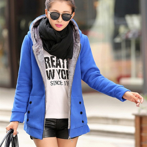 Spring Autumn Jackets Women Casual Hoodies Coat Cotton Sportswear Coat Hooded Warm Jackets Plus Size M-3XL Islamabad