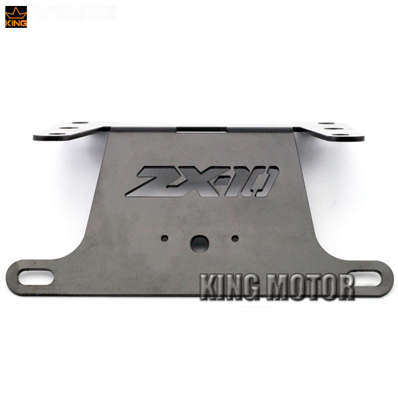 For KAWASAKI NINJA ZX10R ZX-10R 2004 2005 Motorcycle Tail Tidy Fender Eliminator Registration License Plate Holder Bracket Black aftermarket free shipping motorcycle parts eliminator tidy tail for 2006 2007 2008 fz6 fazer 2007 2008b lack